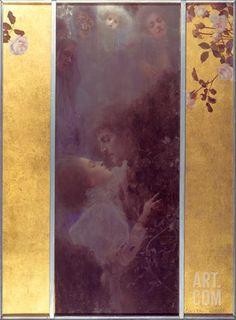 Love, 1895 Art Print by Gustav Klimt at Art.co.uk