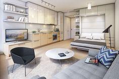 Kleine Wohnung einrichten - Ideen zur flexiblen, praktischen und cleveren Einrichtung
