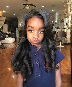 Flat Iron Hairstyles Fascinating Natural Hairkids Press & Curl  Hair Hair Hair  Pinterest  Hair