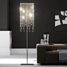 stylish floor lamp, glitz + glam