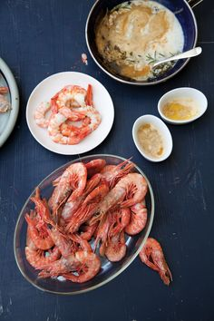 Peel-and-Eat Shrimp with Spicy Herb Butter | SAVEUR