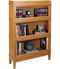 would love to have a bookcase like this for special/expensive books and for work stuff.