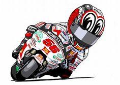 Racing Cafè: Motorcycle Art - Sin Terauti #2