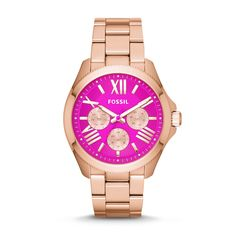 Fossil Cecile Multifunction Stainless Steel Watch – Rose Gold-Tone
