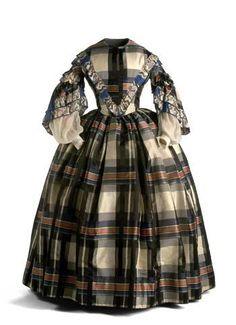 1850s nifty plaid
