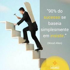 Insista, tente algo novo, faça novamente e melhor. Mas em hipótese alguma, desista.      #transformacao #coaching #rodrigomourao #rmfactory #curso #mindset #boanoite #consultoria #negocios
