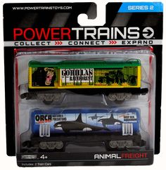 2 collectible cars that are perfect for any Power Trains collection. Completely compatible, works on all Power Train Tracks and with all engines.