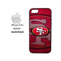 San Francisco 49ers Custom #3 iPhone 5/5s HYBRID Case Cover