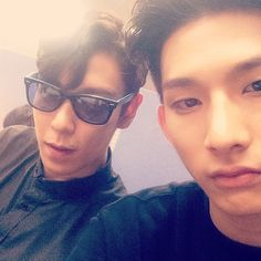TOP with Model Park Hyeong Seop