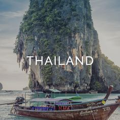Inspiration, photos, and tips for travel in Thailand.