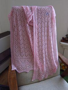 Ravelry: K4C Lace shawl by Nancy van Aken