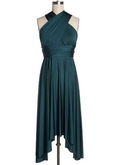 Cool Cocktail Dresses It's Magical Convertible Dress in Green Teal - $59.95 : Indie, Retro, Party,... Check more at http://24store.tk/fashion/cocktail-dresses-its-magical-convertible-dress-in-green-teal-59-95-indie-retro-party/