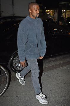 Kanye West x Yeezy x Zebra Kanye West Outfits, Kanye West Style, Kanye West Fashion, Kanye West Clothing, Hip Hop Outfits, Yeezy Outfit, Yeezy Fashion, Mens Fashion, Urban Fashion Men