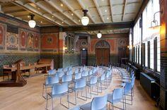 De bondsraadzaal in de Burcht van Berlage. Foto Arjan Bronkhorst