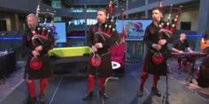 WATCH: Who Knew Bagpipers Could Rock Out So Hard?     It's awesome. I promise. Heard it on the radio the other day. I was rocking out to bagpipes in my car.