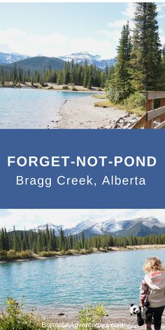 Travel Canada and explore Forgetmenotpond in Bragg Creek Albert is the perfect hike for kids. Enjoy beautiful views of the Canadian Rockies. A short distance from Banff, Calgary, and Canmore. Also a great picnic spot. Family Adventure, Adventure Travel, Adventure Time, Ecuador, Places To Travel, Places To See, Canadian Travel, Canadian Rockies, Alaska