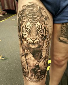 #tiger #tigertattoo #lukesayer