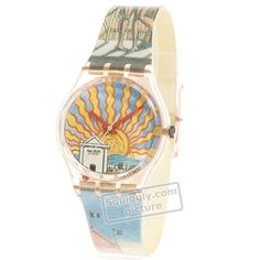 3c827e3901f Swatch Il-Poeta GP107 - 1993 Fall Winter Collection Winter Collection