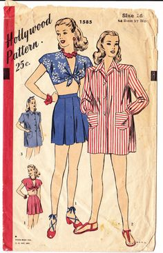 Hollywood Pattern 1585: so classic.