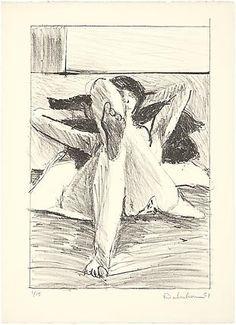 Richard Diebenkorn • Untitled, 1961 • Lithograph