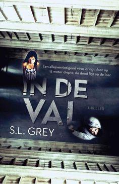 In de val van S.L. Grey | Momlit Thrillers, Broadway Shows, Van, Grey, Books, Movie Posters, Movies, Amazon, Gray