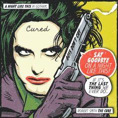 Robert Smith, Siouxsie Sioux, Morrisey, Debbie Harry y más en la versión pop art del artista brasileño Butcher Billy.
