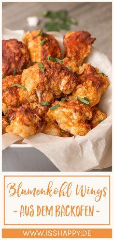 Vegan Buffalo Cauliflower, Cauliflower Recipes, Rice Recipes For Dinner, Vegan Comfort Food, Vegan Food, Healthy Baking, Food Inspiration, Vegan Recipes, Food And Drink