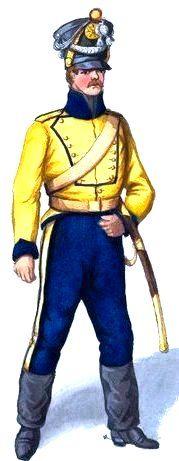 Swedish Dragoon 1814