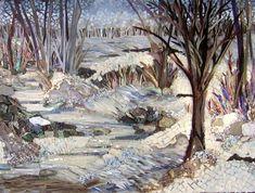 Winter's Beauty - Laura Rendlen http://www.lrfinemosaics.com/