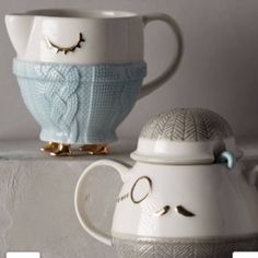 ISO creamer- not for sale!!! Looking for the creamer (on the left) from anthropologie! Willing to pay slightly more than retail (they were 15 a piece)... If you're willing to part with them please let me know! Anthropologie Other