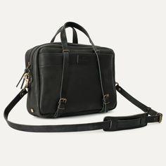 Bleu de Chauffe I Leather business bag I Sac business Report I Men's bag