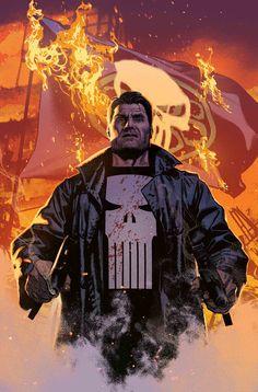 The Punisher by Greg Smallwood The Punisher, Punisher Comics, Marvel Heroes, Captain Marvel, Marvel Dc, Netflix Marvel, Spiderman, Batman, Comic Books Art
