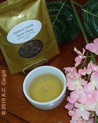 5 Teas to Get You Through March (Sencha Kyoto Cherry Rose Festival Green Tea)