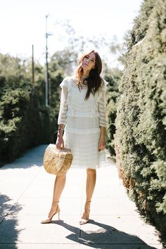 Wedding season is upon us. What to wear to a garden wedding party this Spring.