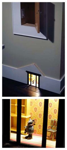 A Mouse House Night Light - idea #kids_room