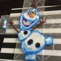 Olaf - Disney Frozen hama beads by alexandramoberg