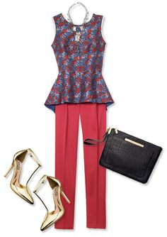 9 Looks That Spread Holiday Cheer - Occasion: Drinks With Colleagues from #InStyle