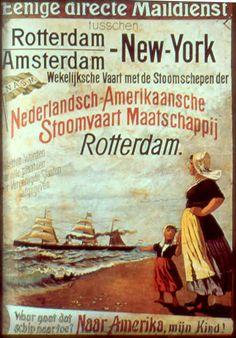 original Holland America line poster - Google Search