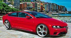 Alfa-Romeo Alfetta GT concept, 2017.      On looks, a worthy successor.