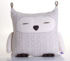 owl pillow by Velvet Moustache