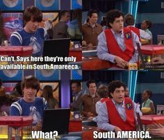drake and josh! Favorite quote from this show besides everything that crazy Steve says! luv drake and josh Drake And Josh Quotes, Drake Y Josh, Drake Bell, Tv Quotes, Movie Quotes, Funny Quotes, Funny Memes, Funny Gifs, Funny Cartoons
