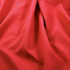 CRD8421 Corded Cotton Solid – Hot Tomato