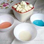 Glassa con polvere di meringa ricetta base