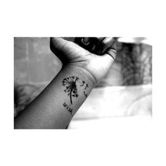 wrist tattoo   Tumblr ❤ liked on Polyvore featuring tattoos, tatoos, tattoos and piercings, backgrounds and photography