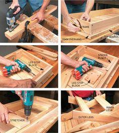 HOME DZINE Home DIY | Fold away braai table
