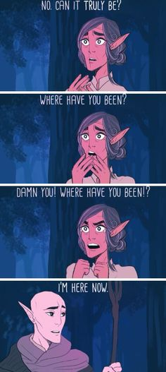 """Where Have You Been? (The Last Unicorn/DA:I crossover) :'( """"How dare you come to me now!!"""" (okay, so maybe I've.. heard of the Last Unicorn... a time or two... >.>...<.<...>.>)"""