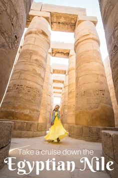 Take a cruise down the Nile from Aswan to Luxor. Visit the ancient Egyptian temples of Philae, Kom Ombo, Edfu, Karnak, and Luxor. by Wandering Wheatleys (@wanderingwheatleys) #Egypt #Nile #Cruise #MiddleEast #Africa #Travel #TravelGuide #NileCruise