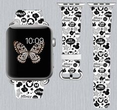 S/M  Apple Watch band 42mm Iwatch band Leather Apple watch band 112 by TrenderPrint on Etsy https://www.etsy.com/listing/518372882/apple-watch-band-genuine-leather-apple