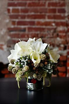 Wedding inspiration for the flowers