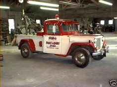 1948 Jeep Tow Truck !